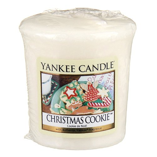 Yankee Candle votives – Cookie de Noël (Jaune)