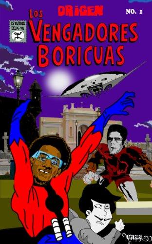 Vengadores Boricuas # 1 (Metal Negro) por Jose Vazz