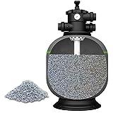 PremiumZeolith 25 kg Zeolith Filtersand für Sandfilteranlagen Pool Swimmingpool Aquarium Teich Schwimmteich Poolfilter Sandfilter Filtergranulat Filterkies Poolsand