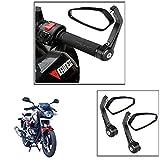 #7: Vheelocityin Motorcycle Bar End Mirror Rear View Mirror Edge For Bajaj Pulsar 180