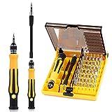 46en 1magnética destornillador de precisión Tool Kit compacto Desmontaje Repair Tool