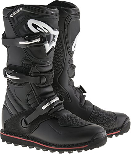 Alpinestars Motocross-Stiefel Tech-T Schwarz Gr. - Akkordeon-unterstützung