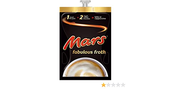 Flavia Mars Fabulous Froth 80 Drink Sachets To Be Used
