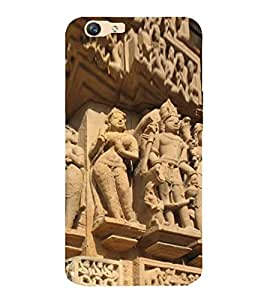 ifasho Designer Back Case Cover for Oppo F1s (Monument Xian China Durg)