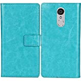 Lankashi PU Flip Leather Case For M-HORSE Pure 1 5.7