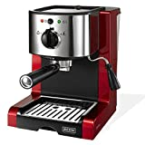 BEEM Germany Espresso Perfect, Machine à Expressos Professionnelle, rouge brillant