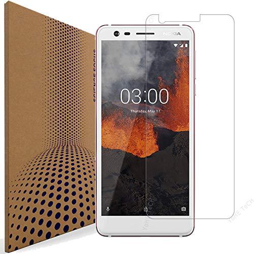 VLP Nokia 3.1 Panzerglas Schutzfolie, 2.5D Kanten Anti Kratzer Fingerabdruck Resistent Schutz Folie Panzerglasfolie Bildschirmschutzfolie Schutzfolien für Nokia 3.1