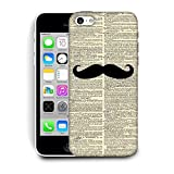 Best 5c Case Protective - Snoogg Newspaper I Mustache You Designer Protective Back Review