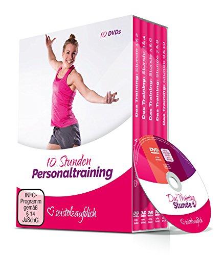 Preisvergleich Produktbild seistolzaufdich - 10 Stunden Personaltraining Fitnesstraining (10 DVDs) mit Imke Krüger