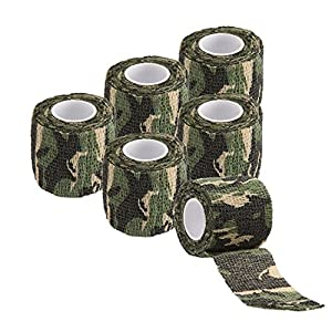 Ekind multifonction Autocollant de protection Camouflage furtif Waterproof Tape Wrap (lot de 4)
