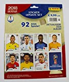 Panini FIFA World Cup Russia 2018 - Update-Set mit 96 Stickern