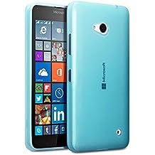 Microsoft Lumia 640 Funda Protectiva de Silicona Gel TPU estrecha - Azul