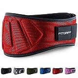 Fitgriff Gewichthebergürtel - Fitness-Gürtel für Bodybuilding, Krafttraining, Gewichtheben und...