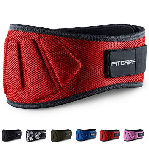Fitgriff® Gewichthebergürtel - Fitness-Gürtel für Bodybuilding, Krafttraining, Gewichtheben und Crossfit Training - Trainingsgürtel für Damen und Herren