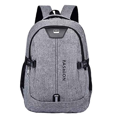 holitie USB Aufladungsrucksack mit großem Fassungsvermögen Reise Business Passwort Tote Wanderrucksack Schultasche Herren Laptop Rucksack mit
