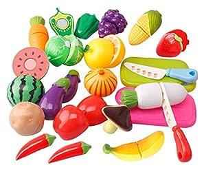 niceEshop(TM) Educación Niños Juego de Imaginación Vegetales de la Cocina Alimentos Juguetes para los Niños de niceEshop