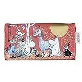 Disaster Moomin Designer Geldbörse, Portemonnaie, außergewöhnliches und liebevolles Design
