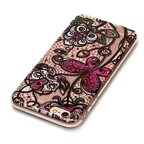 Yaking® Apple iPhone 6/6S Coque Silicone TPU Case Cover Gel Étui Housse pour Apple iPhone 6/6S 12-F