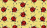 Gift Company Zerbino Coccinelle, Cocco, Colorato, 75x2x45 cm