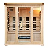 CABINE SAUNA LUXE INFRAROUGE 4/5 PLACES