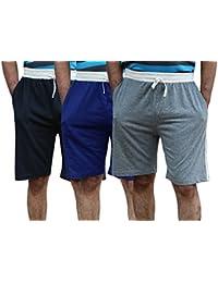 Elk Men's Cotton Shorts Trouser - Set of 3