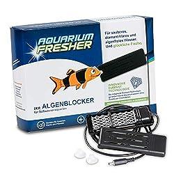 Aquarium-Fresher LARGE | Für Süßwasser-Aquarien bis ca. 500L | Gegen Algen und trübes Wasser | Klassik-Design | Verpackungsinhalt: 1 Stk. || for freshwater aquarium up to 500L | against algae and cloudy water
