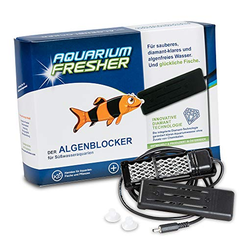 Aquarium-Fresher LARGE | Für Süßwasser-Aquarien bis ca. 500L | Gegen Algen und trübes Wasser | Klassik-Design || for freshwater aquarium up to 500L | against algae and cloudy water -