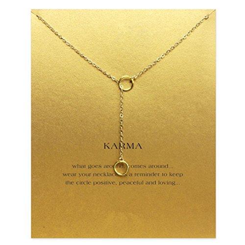 Elistelle Halsketten Für frauen Damen Mit Anhänger Gold Gliederkette Kurz Halsband Schmuck