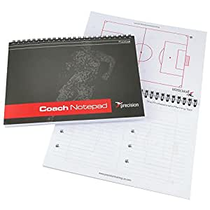 Precision Training - A5 Notepad for Football Coaching and Scouting