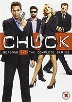 Chuck  - Season 1-5 Complete [DVD] [2012] [STANDARD EDITION] [Import anglais]