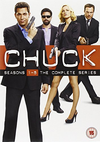 Chuck  - Season 1-5 Complete [DVD] [2012] [STANDARD EDITION] [Import anglais], Episodes DVD/BluRay