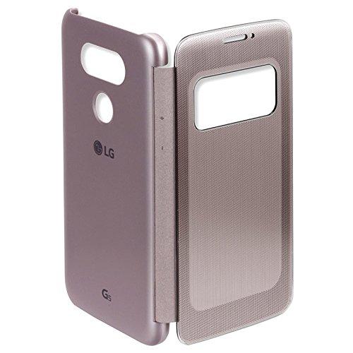 Lg G5 GOLD SmartLike Sensor Premium Leather Flip Cover for LG G5 GOLD
