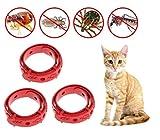 Ducomi Anti-Pull-Kragen – Set mit 3 – Schädlingsbekämpfung für Katzen – Länge 33 cm – Schutzkontakt von Pulci und Zecche bis zu 8 Monate – verstellbar, verstellbar und mit Anti-Shock-System.