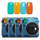 Katia Mini 70 Color Photoflash Effects Filters for Fujifilm Instax Mini 70 Instant Camera -- 4 Colors
