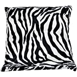 "Fortisline Microfibre Animal Pillows 40x40cm (15.7""x15.7"") 7 colours (Zebra)"
