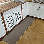 Rectangular Kitchen mat, Non-slip Absorbent Home Carpet Rubber backing Kitchen Carpet Decoration Doormat Runne
