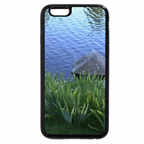 iPhone 6S / iPhone 6 Case (Black) MANZANITA LAKE!