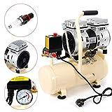 8L compressore ad aria compressa, senza olio, silenzioso, 550 W, silenzioso, 1380 giri/min, 40 l/min DHL!
