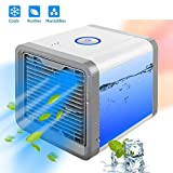 TryoKart Mini Portable Air Cooler Fan Arctic Air Personal Space Cooler The Quick
