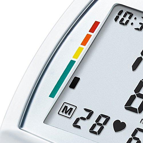 Sanitas SBM 03 vollautomatisches Handgelenk-Blutdruckmessgerät, mit Pulsmessung, inkl. Aufbewahrungstasche - 5