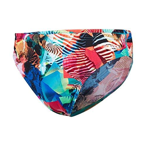 Speedo-Baador-de-natacin-para-hombre-multicolor-multicolor-Tamao-7620-cm