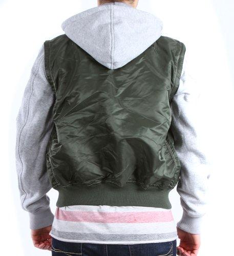 Alpha Industries Jacke Ma-1 TT Vest Jacket (01) Sage Green