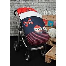 Babyline Pirata - Saco de silla de paseo, color rojo