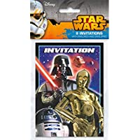 amazon co uk star wars invitations party supplies toys games