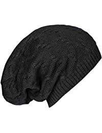 caripe warme Winter Damen Herren Mütze Long Beanie Strickmütze - MU