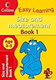 Size and Measurement Ages 3-5 Book 1: Collins Easy Learning (Collins Easy Learning Age 3-5)