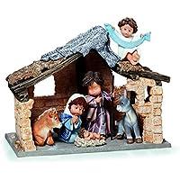 Nadal Figura Decorativa Paz en la Tierra, Resina, 16.00x33.00x27.50 cm