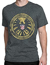 Avengers Mens Marvel Agents of Shield T-shirt