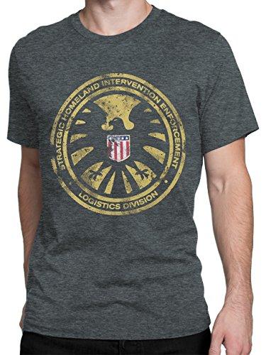 Avengers Mens Marvel Agents of Shield T-shirt