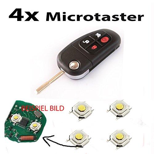 Para Jaguar X Type S Type XJ 4microtaster mikrotaster pulsador mando a...